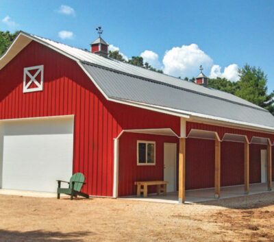 Post Frame Steel buildings in Canada